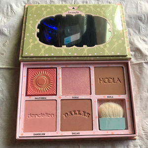 Benefit Cheekleaders Pink Squad Face Palette - New